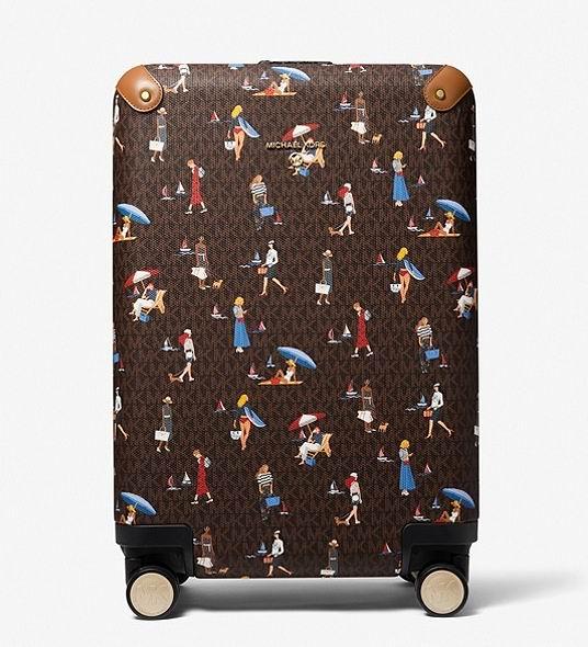 Michael Kors Jet Set小号女孩图案拉杆行李箱 448.5加元,原价 598加元,包邮