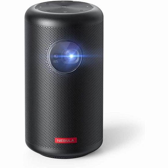 历史新低!翻新 Anker NEBULA Capsule Max 智能掌上Wi-Fi投影机5.6折 391.99加元包邮!