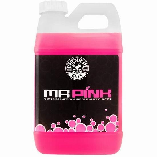 历史新低!Chemical Guys 化学小子 CWS_402_64 粉红先生 汽车洗车液(64盎司)6.1折 18.07加元!