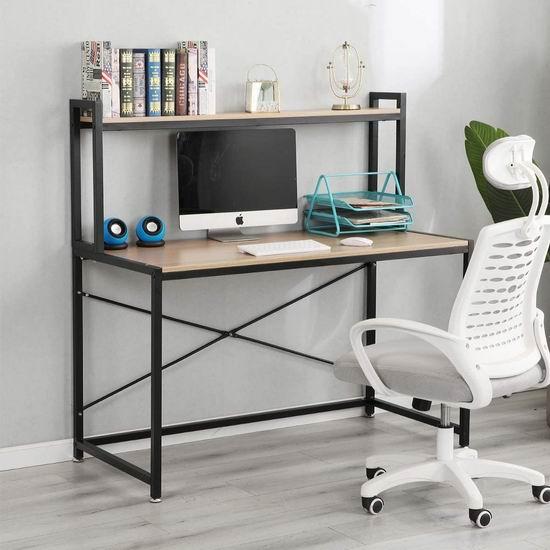 DlandHome 47英寸 时尚电脑桌/书桌 61加元限量特卖并包邮!