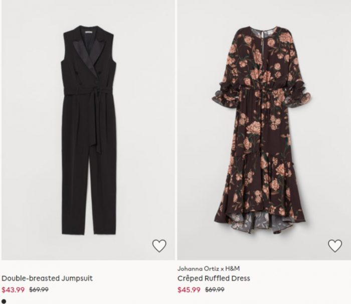 H&M 精选时尚服饰、鞋靴、居家用品等4折起