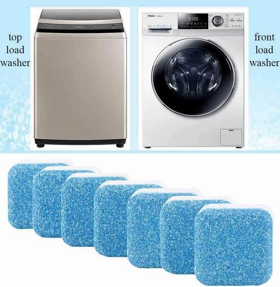 BigbigHouse 洗衣机深层清洁剂 7块 11.99加元
