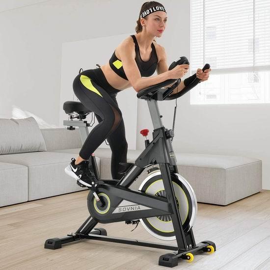 SOVNIA 家用静音健身自行5.5折 237.44加元限量特卖并包邮!