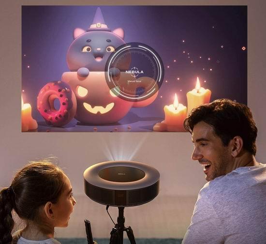 金盒头条:Anker Nebula Cosmos 1080P 智能Android 便携式Wi-Fi投影机6.4折 699.99加元包邮!