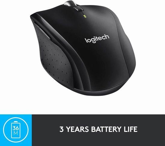 历史最低价!Logitech 罗技 M705 无线激光鼠标5.7折 39.99加元包邮!