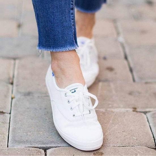 精选 Keds 经典小白鞋、帆布鞋、短靴等4折起+额外8.5折!低至25.46加元+包邮!