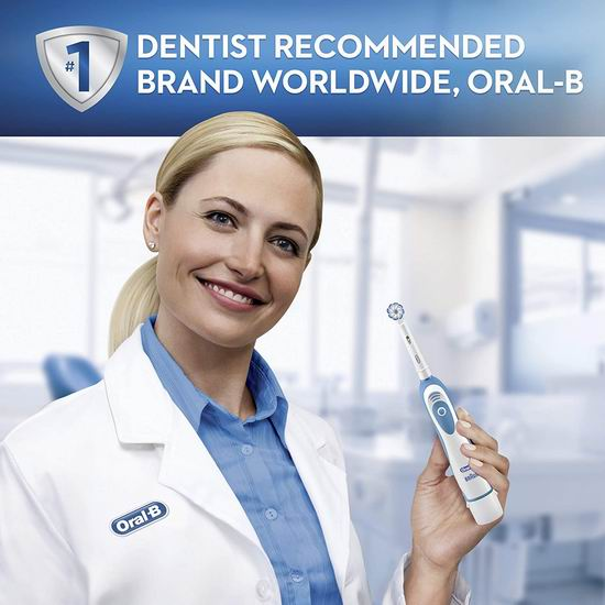 历史最低价!Oral-B Power Pro-Health 双重清洁 电动牙刷6.2折 9.97加元!