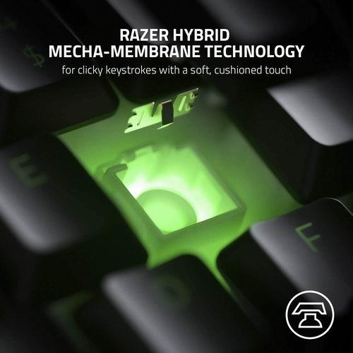 Razer Ornata 雷蛇雨林狼蛛 V2 游戏键盘 7.1折 99.9加元,原价 139.99加元,包邮