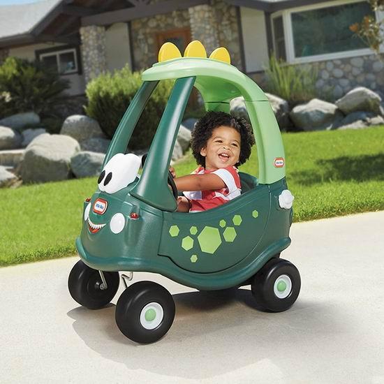 Little Tikes 小泰克 Dino Cozy 儿童滑步小车 59.97加元包邮!