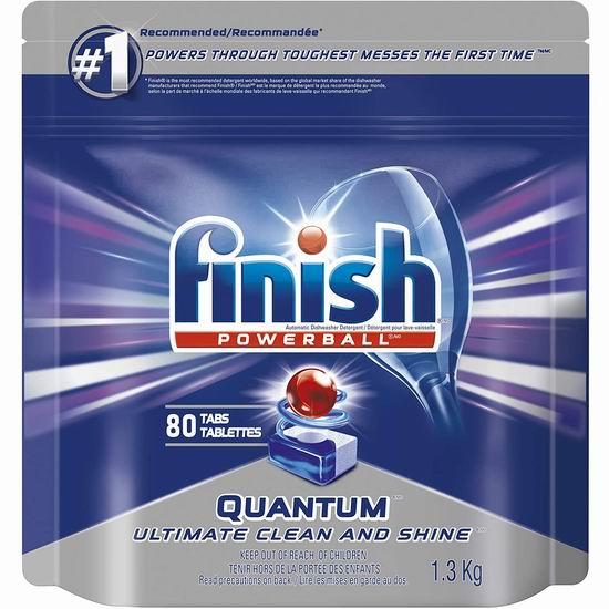 Finish Quantum 洗碗清洁剂30粒 9.99加元