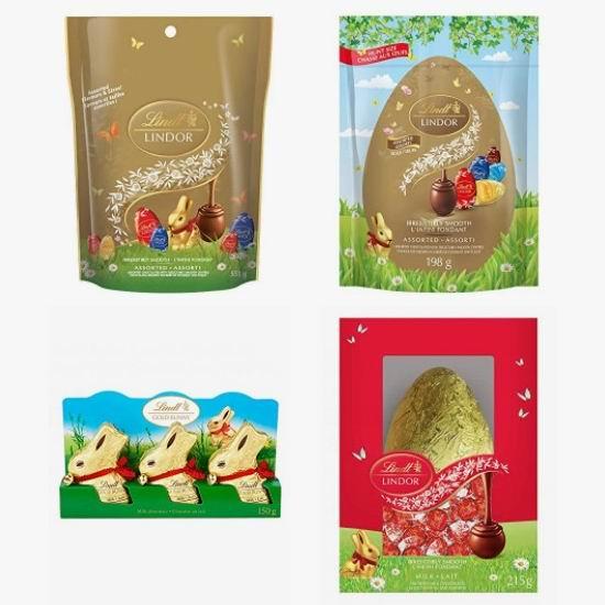 金盒头条:精选多款 Lindt 瑞士莲复活节巧克力6折起!低至7.78加元!