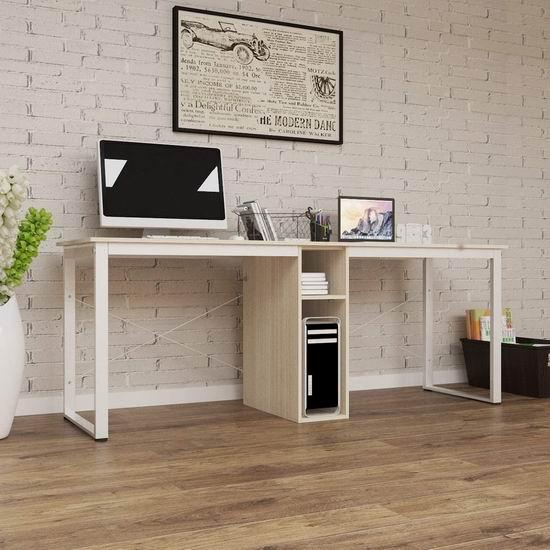 Soges 78英寸 双人办公桌/书桌/电脑桌4折 79加元限量特卖并包邮!3色可选!