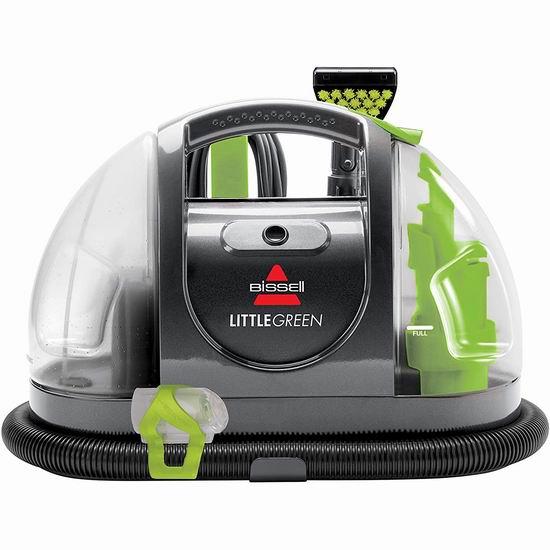 历史最低价!Bissell 必胜 小绿 Plus 便携式深层地毯清洁机 99.99加元包邮!