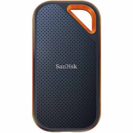 金盒头条:历史新低!SanDisk Extreme PRO 闪迪至尊超极速 SDSSDE81-2T00-G25 2TB 移动固态硬盘 363.99加元包邮!