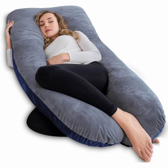 AngQi U型身体支撑枕/孕妇身体枕 67.31-69.09加元限量特卖并包邮!2色可选!