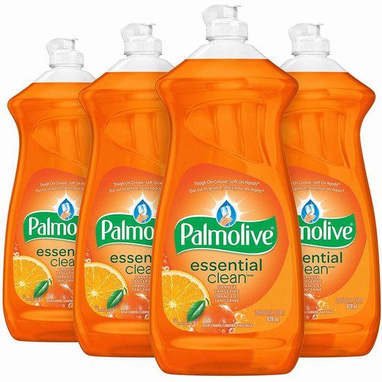历史新低!Palmolive 温和不伤手 果香味洗洁精(4×828毫升)5.7折 7.44加元!2款可选!
