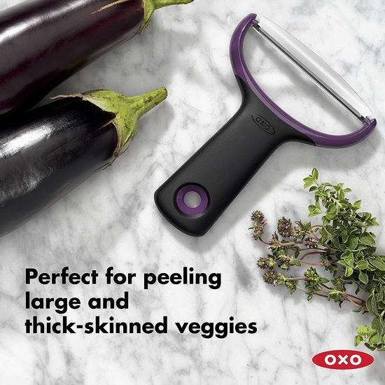 历史新低!OXO 11244500 大号Y型不锈钢 切丝削皮刀5.8折 9.99加元!