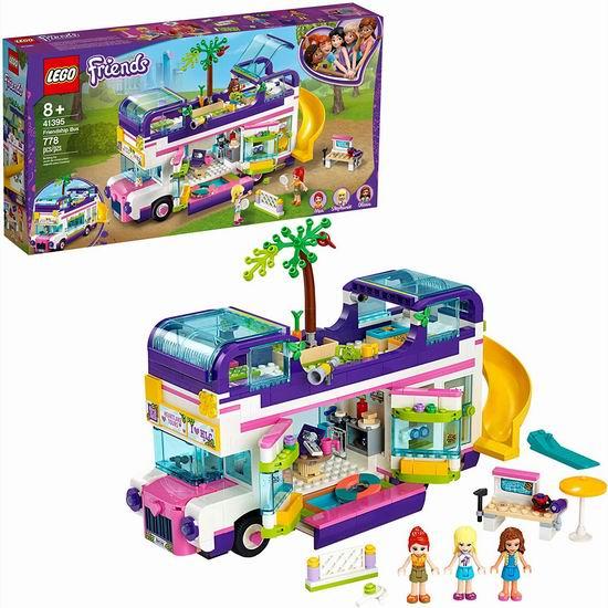 历史新低!LEGO 乐高 41395 好朋友系列 友谊巴士(778pcs)7折 69.99加元包邮!