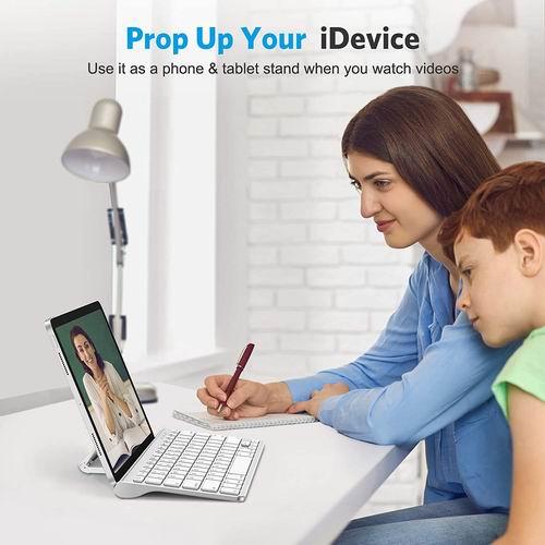 OMOTON iPad/iPhone专用 时尚超薄蓝牙无线键盘 7.9折 23.79加元,原价 29.99加元