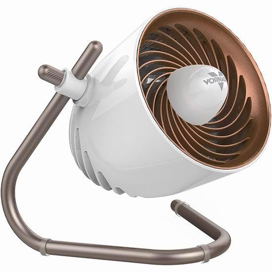 白菜价!历史新低!Vornado Pivot 便携式室内涡流电风扇/空气循环扇2.8折 16.89加元清仓!京东同款690元人民币!