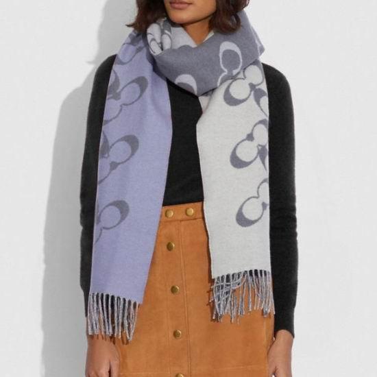 精选2款 Coach 羊毛羊绒围巾4折 78加元起包邮!