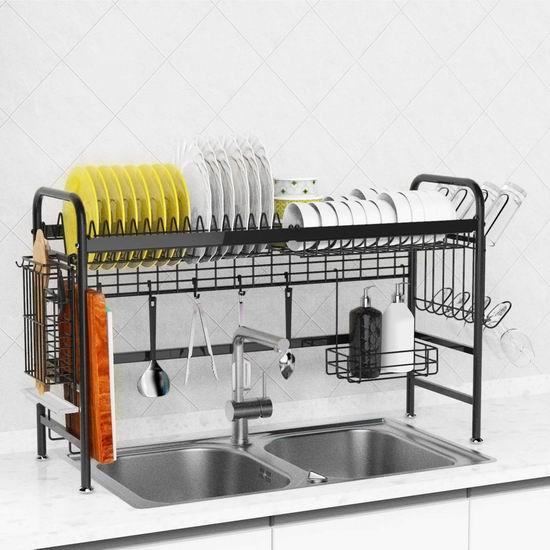 历史新低!X-cosrack 可调节水槽上餐具沥水架5折 69.99加元包邮!