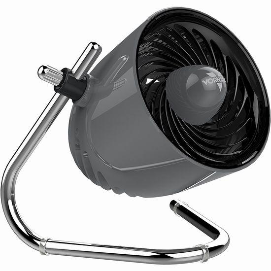 白菜价!Vornado Pivot 便携式室内涡流电风扇/空气循环扇3.6折 22.39加元清仓!京东同款690元人民币!