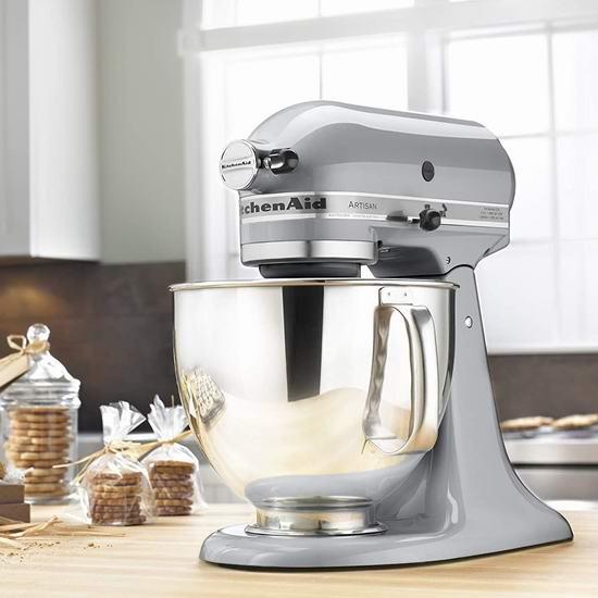 KitchenAid 厨宝 KSM150PSER Artisan 名厨系列5夸脱多功能厨师机 429.98加元包邮!8色可选!