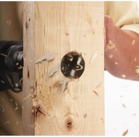 Bosch 博世 DSB5006 Daredevil 木工钻尾 圆槽开孔洗洞 扁平钻头6件套 9.97加元!