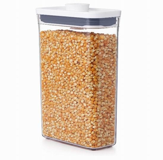 OXO Good Grips POP  带盖食物储物盒1.9夸脱 15.99加元,原价 28.63加元