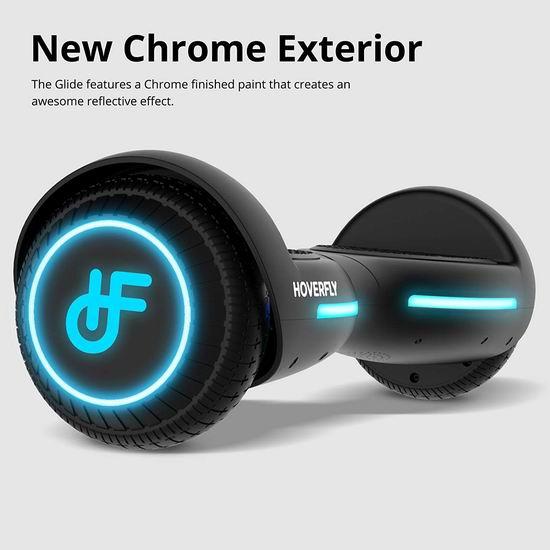 历史新低!HoverFly Flash 双电机 儿童体感平衡车5.8折 116.39加元包邮!3色可选!