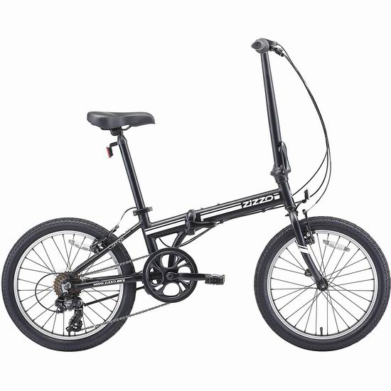 EuroMini ZiZZO 2019 Campo 28磅超轻 20英寸 7速 可折叠自行车 341.79加元包邮!