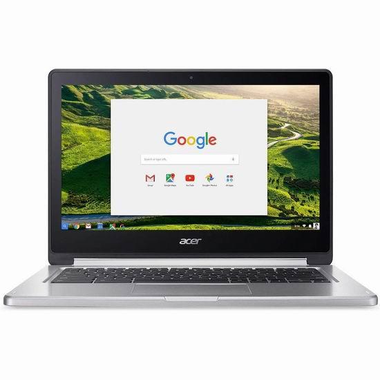 历史新低!Acer 宏碁 Convertible 13.3英寸 Chromebook 触摸屏笔记本电脑(4GB, 64GB)390.47加元包邮!