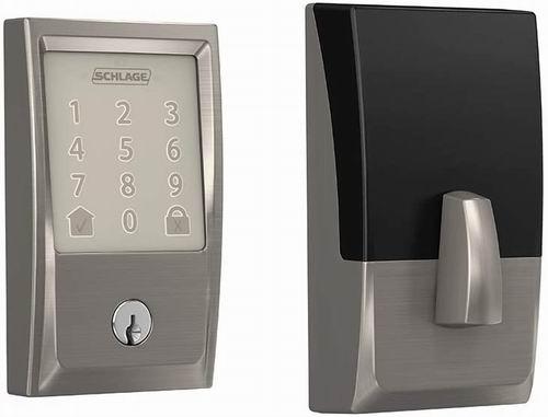 Schlage Encode WiFi智能门锁 279加元(2色),原价 349加元,包邮