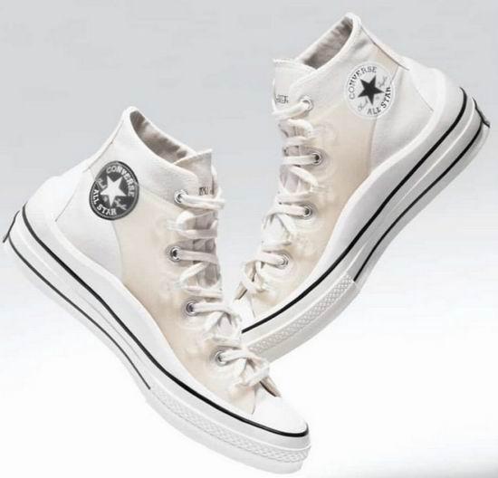 Converse x Dior男装艺术总监Kim Jones 联名Chuck 70高帮帆布鞋 170加元包邮!
