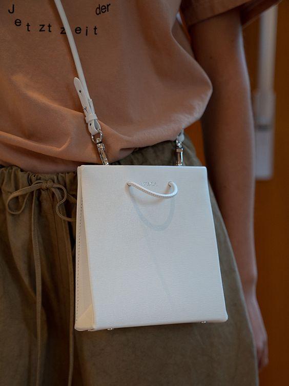 """折扣升级!迪丽热巴蕾哈娜都爱!Medea 小众包 时尚""""纸袋子""""5折起+额外8.5折,折后低至 87.54加元"""