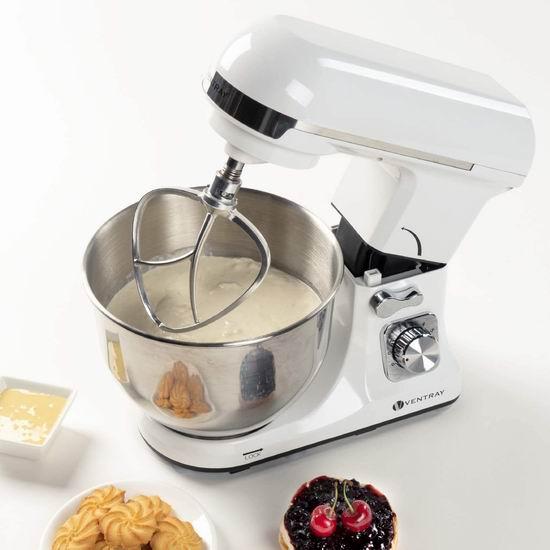 金盒头条:Ventray 4.5夸脱 立式多功能搅拌机/厨师机 152.99加元包邮!3色可选!