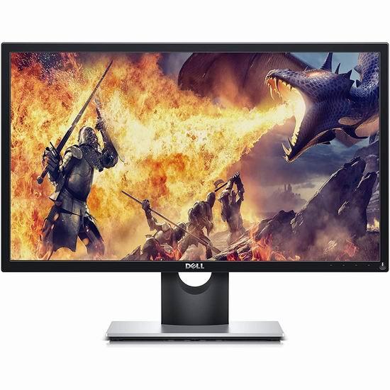 历史新低!Dell 戴尔 SE2417HGX 23.6英寸FreeSync 低蓝光护眼 电竞游戏显示器6.2折 149.99加元包邮!
