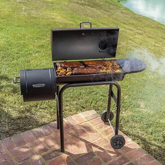 Char-Broil Offset Smoker 三合一 美式炭火烟熏烧烤炉 137.38加元包邮!