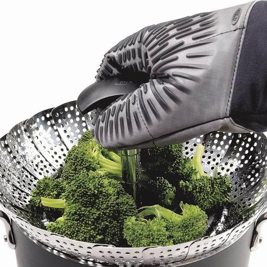历史新低!OXO Good Grips 1067247SS 蒸菜神器 不锈钢提篮式蒸格 20.25加元!