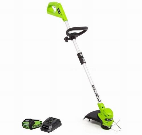 Greenworks 40V 12英寸无绳充电式草坪修剪器套装 139.41加元包邮!