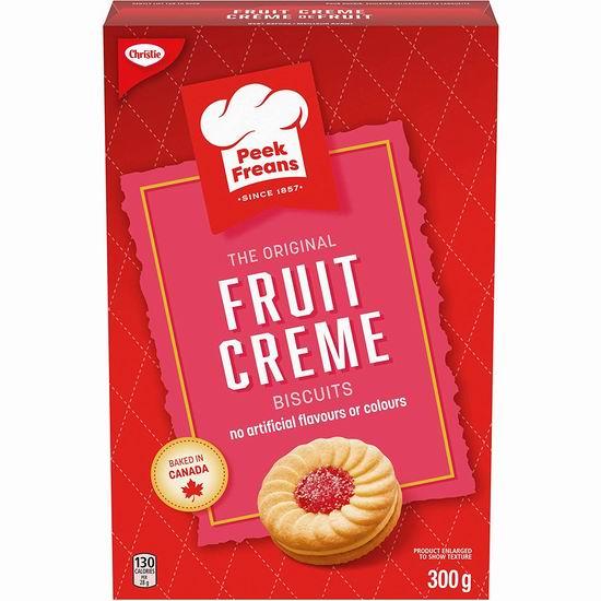 Christie Peek Freans Fruit Creme 水果饼干(300克)1.99加元!