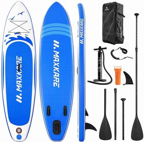 MaxKare 充气式立式桨板套装 409.99加元