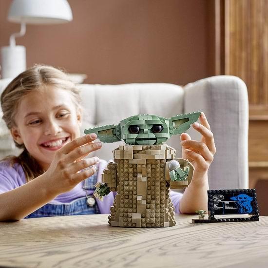 LEGO 乐高 75318 星球大战 尤达宝宝(1073pcs) 85.1加元包邮!