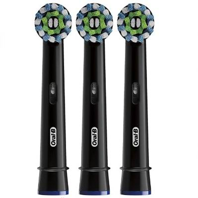 Oral-b Power Crossaction电动牙刷替换刷头3支 黑色 24.99加元,原价 43.99加元