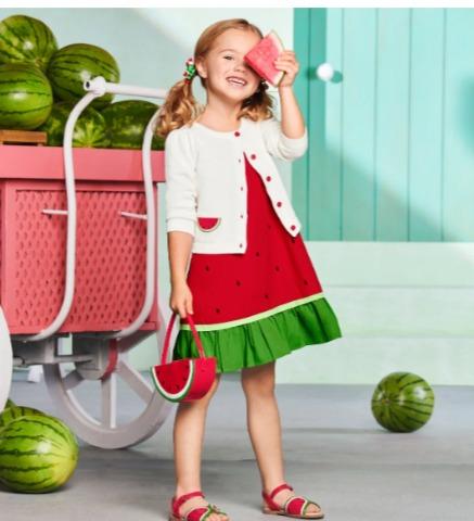 Gymboree 儿童西瓜系列服饰、配饰 7折 9.06加元起+包邮!