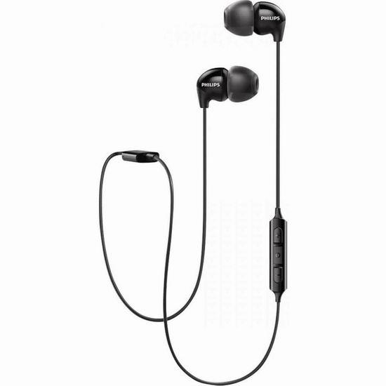 白菜价!历史新低!Philips 飞利浦 Audio UpBeat SHB3595 蓝牙无线运动耳机3.2折 17.2加元清仓!