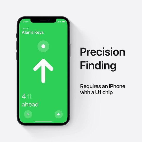 亚马逊开售!新品 Apple AirTag 防丢神器 39.99加元包邮!发动全球iPhone帮你找!