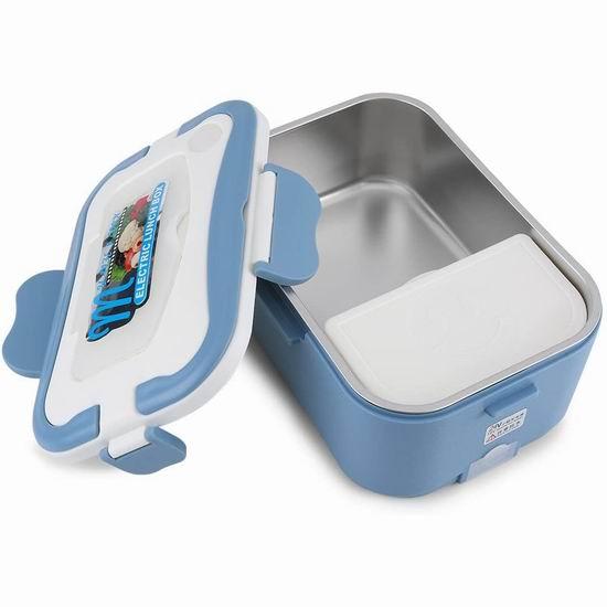 白菜价!历史新低!Lazmin 1.5升 便携式车载加热饭盒1.9折 11.49加元清仓!