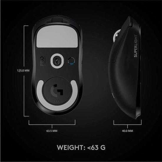 全新 Logitech 罗技 G Pro X Superlight 超轻量无线游戏鼠标 197.14加元包邮!